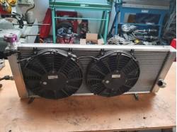 réfection radiateur Clio Super 1600