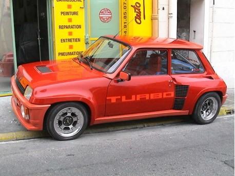Restauration d'une Renault 5 Turbo 1 pour un client d'Autobodyshop