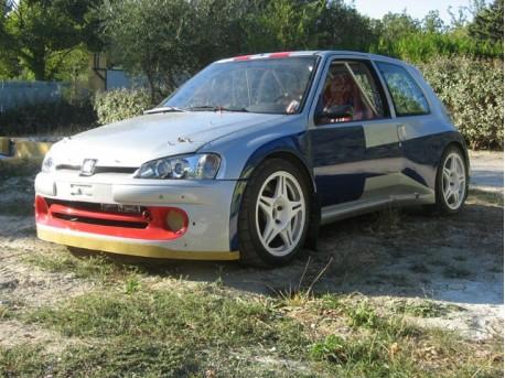 Reconstruction de la Peugeot 106 Maxi n°9 par Autobodyshop